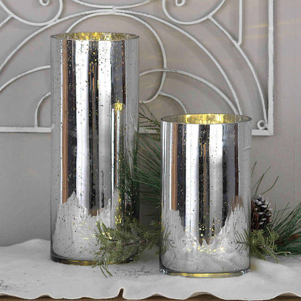 Signature HomeStyles - Short LED Cylinder,Silver on cheap tall vases, cheap flower vases, cheap ceramic vases, cheap votive holders, cheap christmas, cheap large vases, cheap flower arrangements, wholesale vases, cheap acrylic vases, cheap vintage vases, cheap bud vases, cheap black vases, cheap backdrops, cheap trumpet vases, cheap bridal bouquets, cheap hurricane vases, cheap rectangular vases, cheap square vases, cheap wine glasses, cheap block vases,